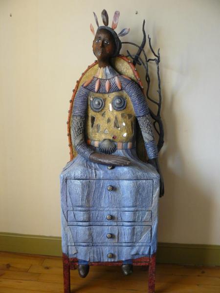 La reine des bois (157x57x34)