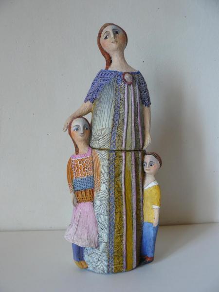 Maman et les deux petits